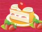 طبخ كيكة الفراولة