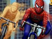 لعبة دراجات سبايدر مان